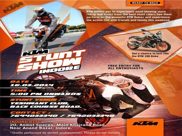 stunt show ktm